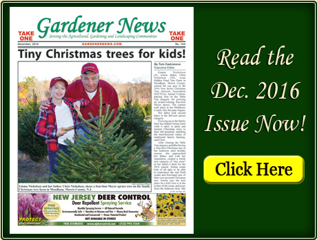 Read the December 2016 issue of the Gardener News