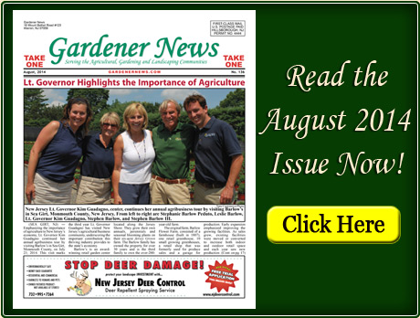 Read the August 2014 issue of the Gardener News