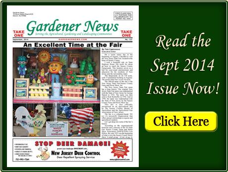Read the September 2014 issue of the Gardener News