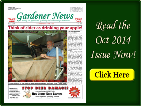 Read the October 2014 issue of the Gardener News