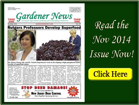 Read the November 2014 issue of the Gardener News