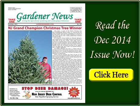Read the December 2014 issue of the Gardener News