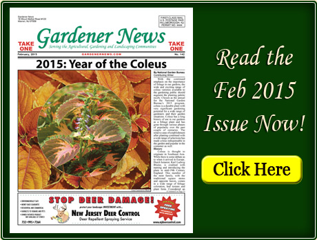 Read the February 2015 issue of the Gardener News