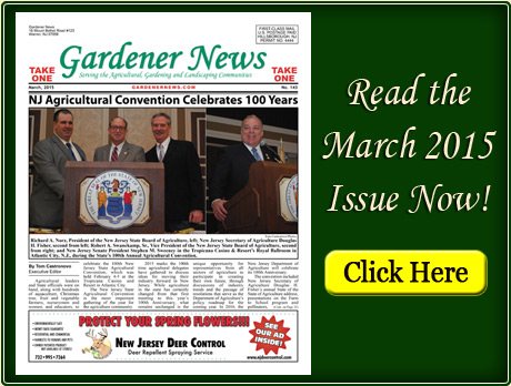 Read the March 2015 issue of the Gardener News