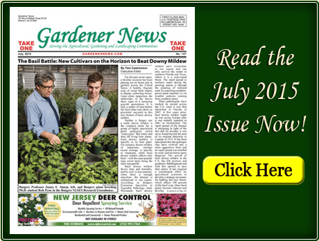 Read the July 2015 issue of the Gardener News