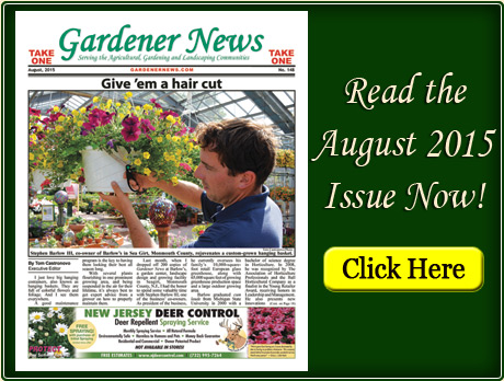 Read the August 2015 issue of the Gardener News