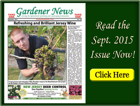 Read the September 2015 issue of the Gardener News