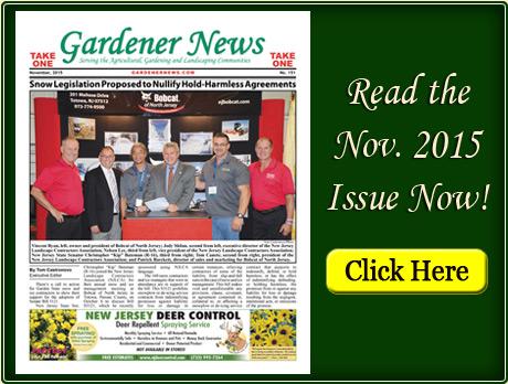 Read the November 2015 issue of the Gardener News