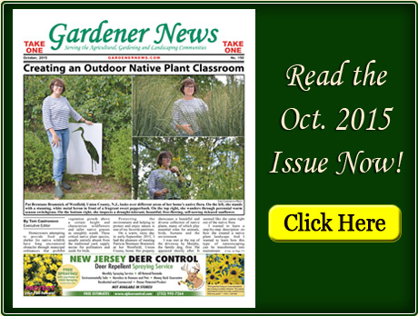Read the October 2015 issue of the Gardener News