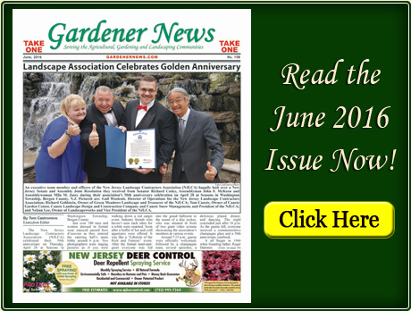 Read the June 2016 issue of the Gardener News