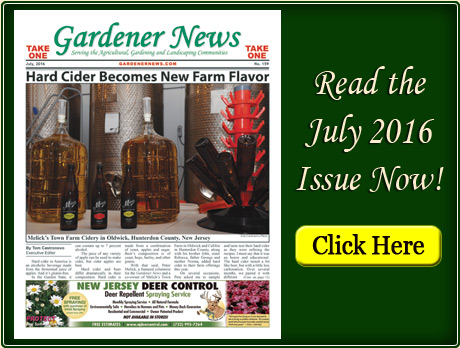 Read the July 2016 issue of the Gardener News