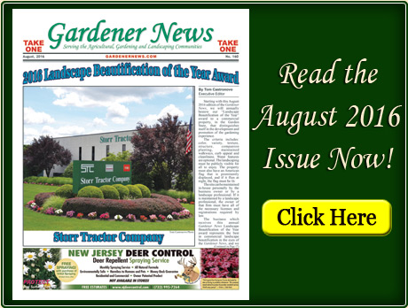 Read the August 2016 issue of the Gardener News