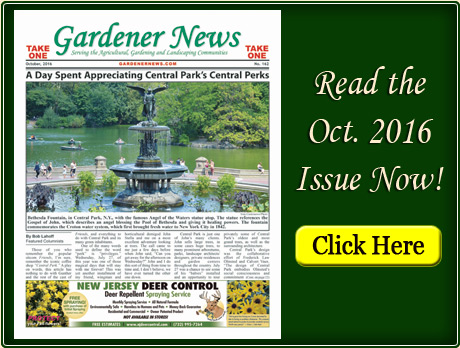 Read the October 2016 issue of the Gardener News