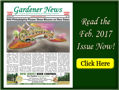 Read the February 2017 issue of the Gardener News