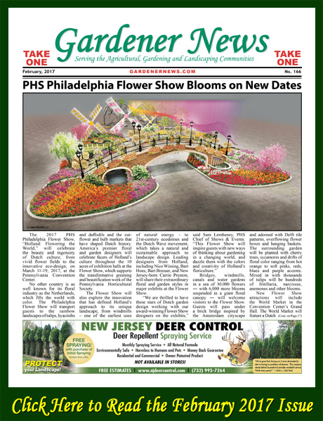 Click here to read the February 2017 issue of the Gardener News online