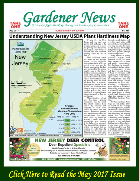 Click here to read the May 2017 issue of the Gardener News online