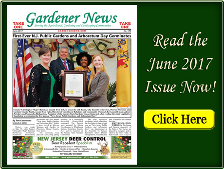Read the June 2017 issue of the Gardener News