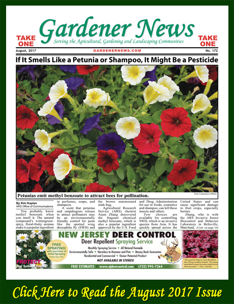 Click here to read the August 2017 issue of the Gardener News online