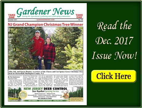 Read the December 2017 issue of the Gardener News