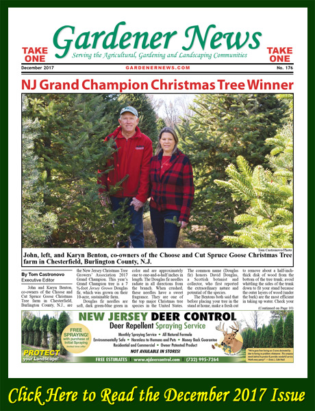 Click here to read the December 2017 issue of the Gardener News online