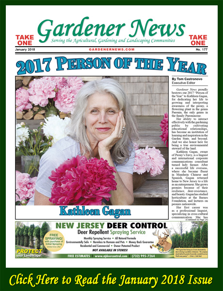 Click here to read the January 2018 issue of the Gardener News online