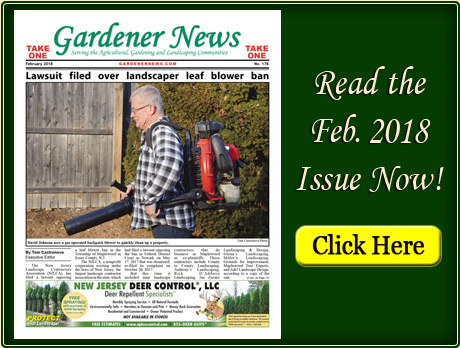 Read the February 2018 issue of the Gardener News