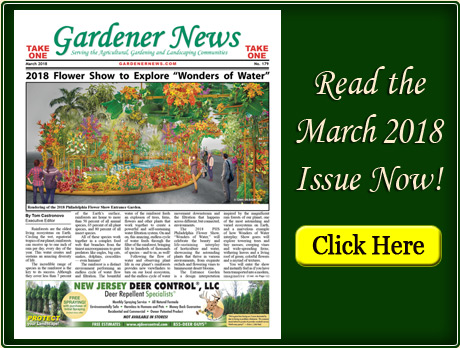 Read the March 2018 issue of the Gardener News