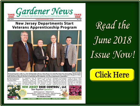 Read the June 2018 issue of the Gardener News