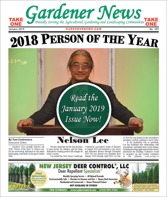 Read the January 2019 issue of the Gardener News