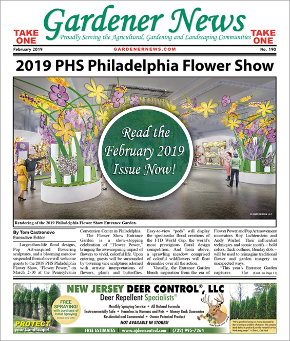 Read the February 2019 issue of the Gardener News