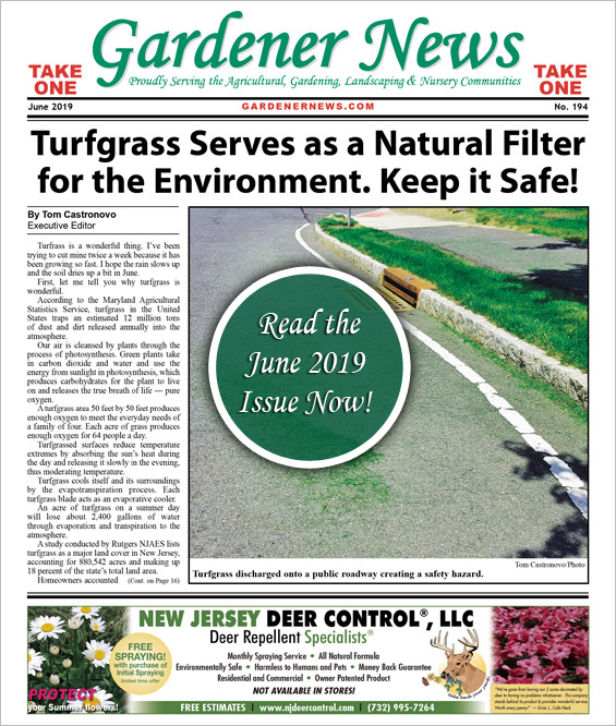 Read the June 2019 issue of the Gardener News