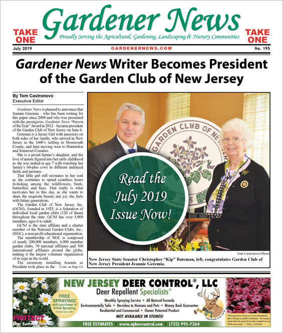 Read the July 2019 issue of the Gardener News
