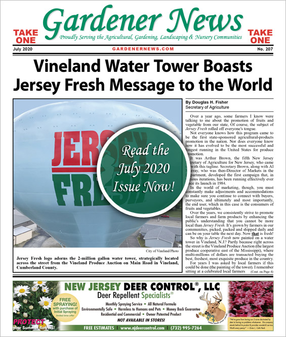 Read the July 2020 issue of the Gardener News