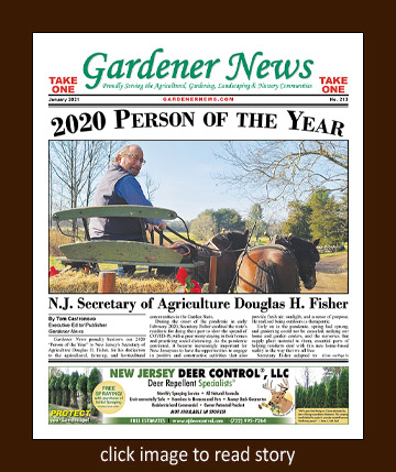 Gardener News 2020 Person of the Year
